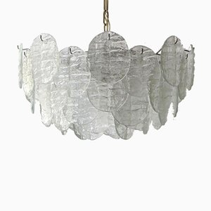 Vintage Blatt Chandelier by J. T. Kalmar for Kalmar, 1970s