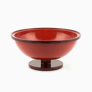 Große zweifarbiger Cuppone Keramik Schale von Aldo Cibic für Paola C.