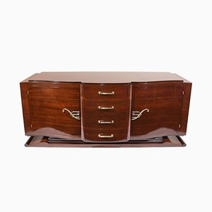 Art Deco French Mahogany Buffet, 1930s