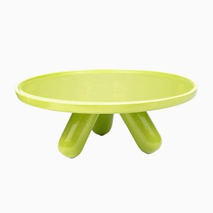 Large Gambone Ceramic Riser in Green by Aldo Cibic for Paola C.