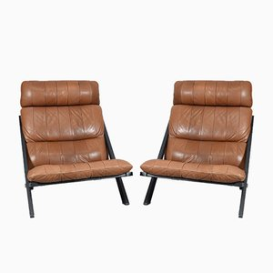 Lounge Chairs by Ueli Berger for de Sede, 1973, Set of 2