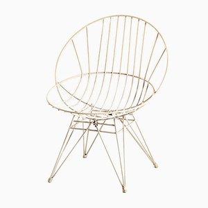 Chaise en Métal par Cees Braakman pour Pastoe, 1950s