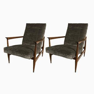 Portuguese Armchairs, 1960s, Set of 2