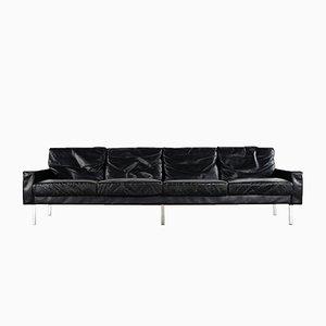 4-Sitzer Leder Sofa von George Nelson für Herman Miller, 1962