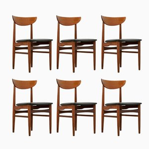 Mid-Century Danish Dining Chairs from Skovby Møbelfabrik, Set of 6