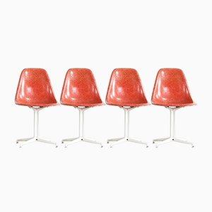 Chaises d'Appoint La Fonda par Charles & Ray Eames pour Herman Miller, 1960s, Set de 4