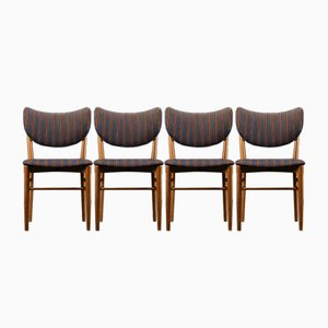 Dining Chairs by Nils Koppel for Slagelse Møbelfabrik, 1950s, Set of 4