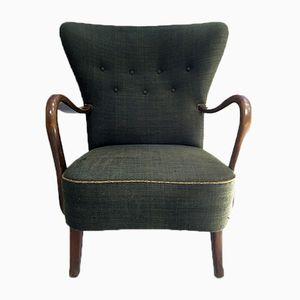 Lounge Chair by Alfred Christensen for Slagelse Møbelfabrik, 1940s