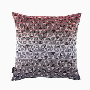 Small Cosmogony Cushion in Orange from NoMoreTwist