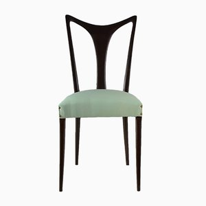 Vintage Italian Dining Chairs by Guglielmo Ulrich, 1940s, Set of 6