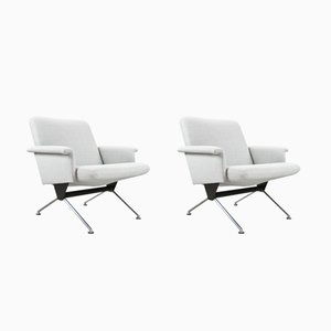 1432 Industrial Armchairs by André Cordemeyer for Gispen, 1961, Set of 2