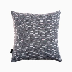 Small Clapotis Cushion in Blue from NoMoreTwist