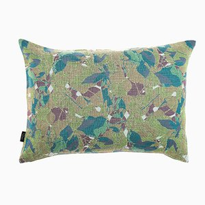 Medium Feuillage Cushion in Green from NoMoreTwist