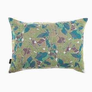 Medium Feuillage Cushion in Green from NoMoreTwist