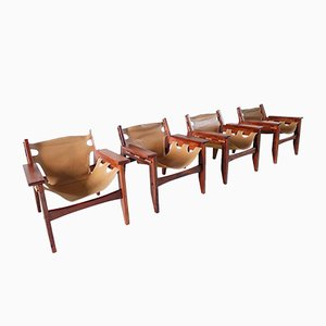 Kilin Chairs by Sergio Rodrigues for Oca, 1973, Set of 4