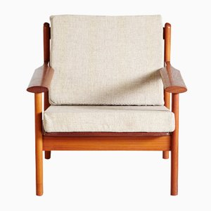 Model 390 Easy Chair by Poul M. Volther for Frem Rojle, 1960s