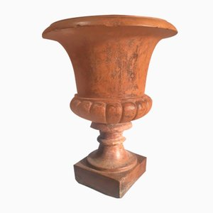 Vaso antico in terracotta, Italia