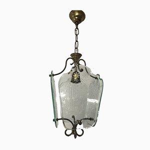 Lampe à Suspension Vintage Gravée à la Main, Italie
