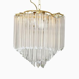 Mid-Century Modern Murano Glass Chandelier from Venini, 1970s