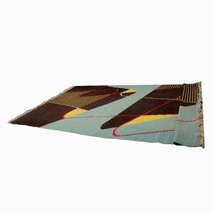 Großer Teppich mit geometrischem Muster, 1960er