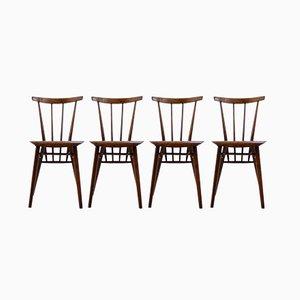 Chaises de Salon Vintage, 1960s, Set de 4