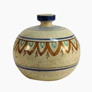 Keramik Vase von Magnanelli Gubbio, 1950er