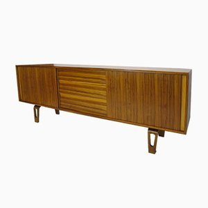 Zebra Rosewood Sideboard by Cor Alons for Den Boer, 1950s