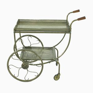 Vintage Swedish Brass Trolley by Josef Frank for Svenskt Tenn