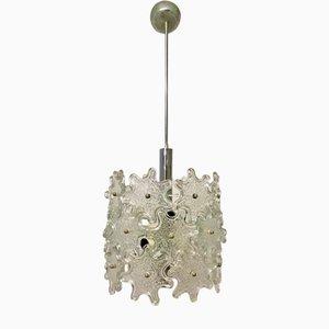 Lámpara colgante Mid-Century con flores de cristal de Murano de Paolo Venini para Veart