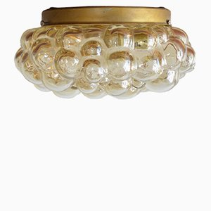 Mid-Century Bubble Glass Flush Mount Ceiling Lamp by Helena Tynell, 1960s