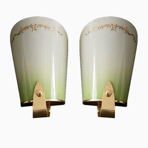 French Sconces, 1950s, Set of 2