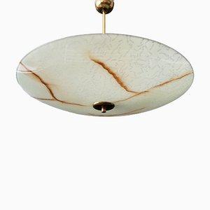 Französische Deckenlampe, 1950er