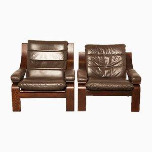 Pair of Danish Lounge Chairs from Coja, 1970s