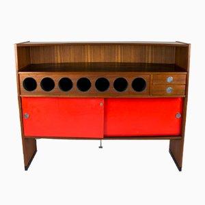 Mobile bar vintage di Erik Buch per Dyrlund