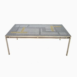 German Mosaic Coffee Table by Berthold Müller, 1960s