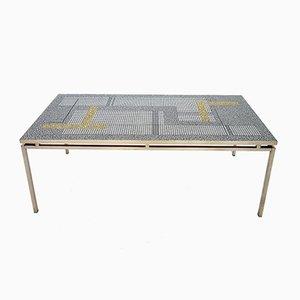 Table Basse en Mosaïque par Berthold Müller, Allemagne 1960s