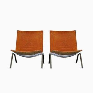 PK22 Sessel von Poul Kjærholm für Fritz Hansen, 1991, 2er Set