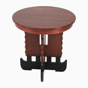 Tavolino da caffè Art Déco in mogano, anni '20