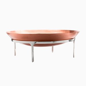 Large Tiberius I Copper Fruit Bowl by Jaime Hayon for Paola C., 2014