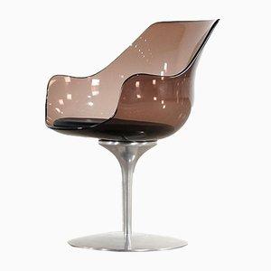 Chaise Champagne par Erwin & Estelle Laverne pour Formes Nouvelles, 1962
