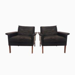 Model 500 Lounge Chairs by Hans Olsen for CS Mobelfabrik, 1960s, Set of 2