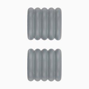 Ganci attaccapanni ONoff grigi di Bicolter Studio per EO - elements optimal, set di 2