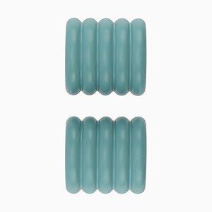 Blaue ONoff Kleiderbügel von Bicolter Studio für EO Denmark, 2er Set