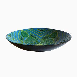 Enamelled Copper Bowl by Laurana De Poli Del Campo for SIVA Poggibonsi, 1950s