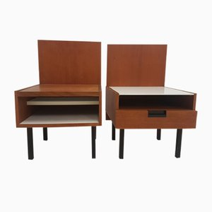 Tables de Chevet par Cees Braakman pour Pastoe, 1970s, Set de 2