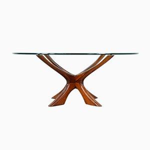 Sculptural Side Table by Illum Wikkelsø for Eilersen, 1960s