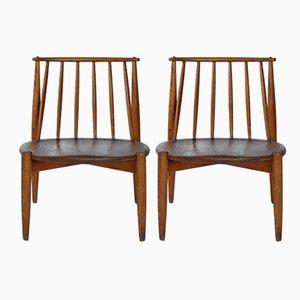Tremmer Chairs by Bendt Vinge for Aase Møbler, 1950s, Set of 2