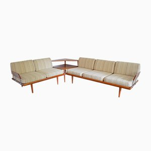 Vintage Minerva Sofa Set by Peter Hvidt & Orla Mølgaard for France & Daverkosen