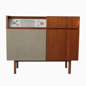 HM1 Radio & Plattenschrank von Herbert Hirche für Braun, 1950er