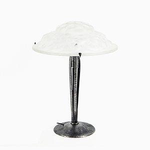 Grande Lampe de Bureau Art Déco Vintage par David Gueron pour Degué